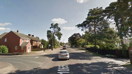 London Road, Brandon, where the assault took place. Picture: Google