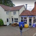 A man has been arrested for causing disruption at Rumbles Fish Bar in East Harling, PHOTO: Google Ma
