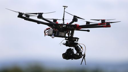Police are appealing for help finding the person flying drones in Brandon in the middle of the night