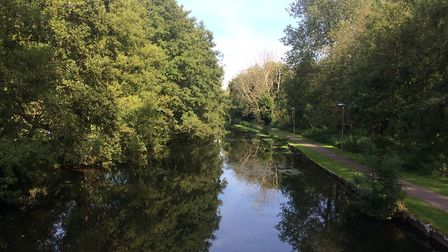 The Little Ouse River in Thetford. Thetford's third annual River Festival takes place on July 20. Pi