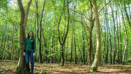 Cambridge University's Eleanor Tew is helping the Forestry Commission plan for the next 100 years of
