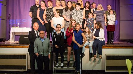 The Best of Brandon winners at the awards ceremony. Picture: Brightstar Designs & Photography
