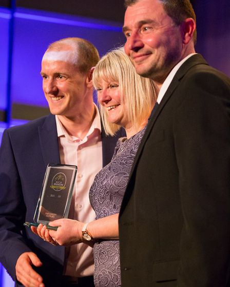 The Best of Brandon Business of the Year was P&R Garden Supplies. Picture: Brightstar Designs & Phot