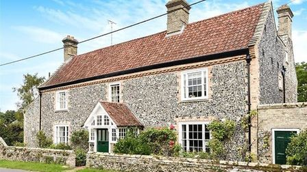 Croxton Lodge, on The Street in Croxton, was the most expensive house in the Thetford area in 2018,