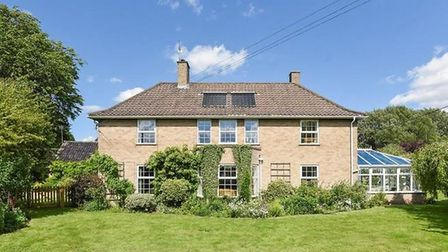 The Old Rectory in Northwold, near Thetford. Picture: Sowerbys