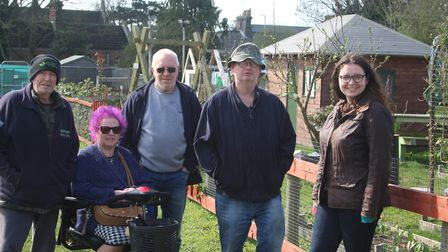 The Mundford Road Allotment Protection Group (MRAPG) has formed to stop the council turning the allo