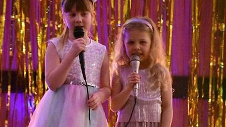 Pupils performing at Weeting's Got Talent. Picture: Rebecca Salton