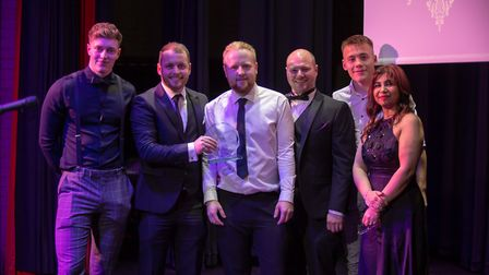 Employer of the year was Foster Electricals who have showed that hard work definitely pays off well