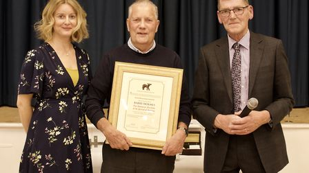 Clerk Kate Filby, Barry Holmes and Parish Council Chairman Philip Edge. Picture: East Harling Counci