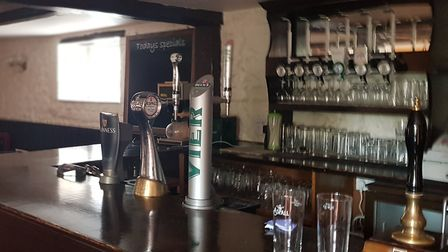 The Crown Inn will be redecorated before opening. Picture: Marc Betts