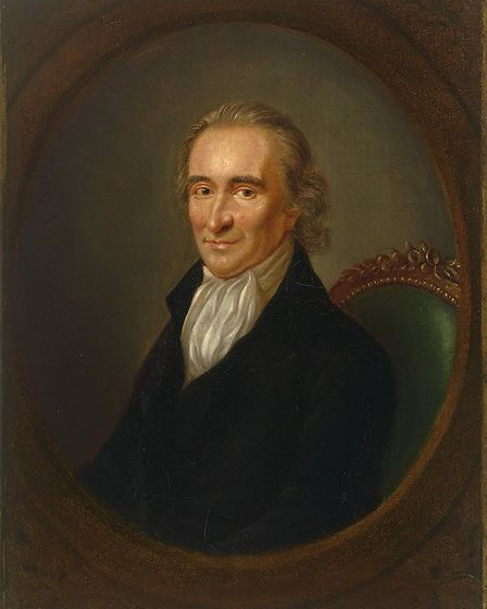 Thomas Paine has been named England's greatest ever radical. Picture: Sonya Duncan