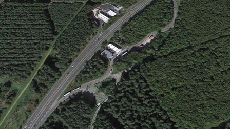 The Thetford Services West on the A11. Picture: Google