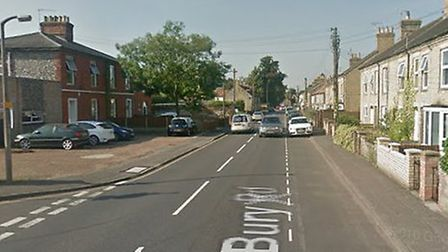 A man in his 20s has been arrested after an incident on Bury Road in Thetford on Monday night. Pictu