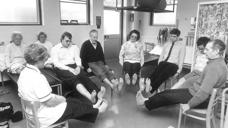 Thetford Cottage Hospital National Physio week taken 15th March 1990. Picture: Archant