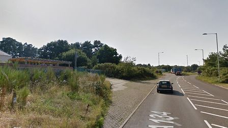 The location of a telephone mast that could imporve coverage in Thetford. Picture: Google