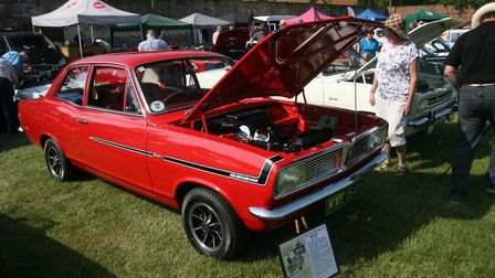 The Elvedon car show is returning for a third year. Picture: Elvedon Classic Car Show