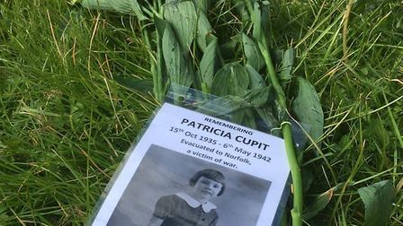 Darren Norton visited the graveyard where Patricia is burried in an unmarked grave. Picture: Darren