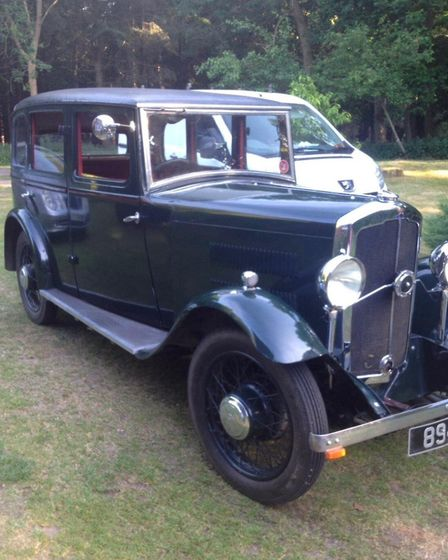 The 1930 Rover 10/25 Saloon. Picture: Howe Family