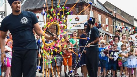 Festival of Punjab Parade in Thetford. Picture: Essex Cultural Diversity Project
