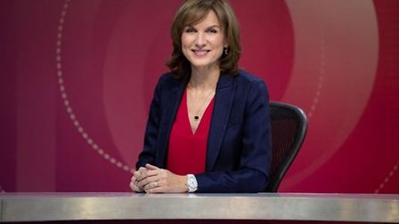 Fiona Bruce will be hosting Question Time in Thetford. Picture: BBC