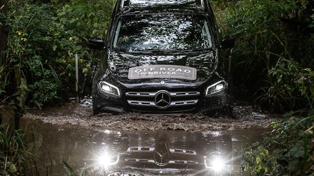Youngsters will be able to get behind the wheel of a Mercedes X-Class. Picture: Jane Collier