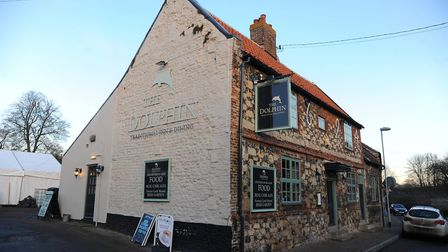 The Dolphin, in Thetford, has closed. Picture: Sonya Duncan