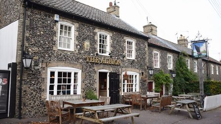 The Albion pub in Castle Street, Thetford, is one of the town's remaing pubs. Picture: DENISE BRADLE