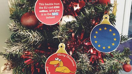 Brexit baubles: 5 DIY Christmas decorations perfect for Remainers
