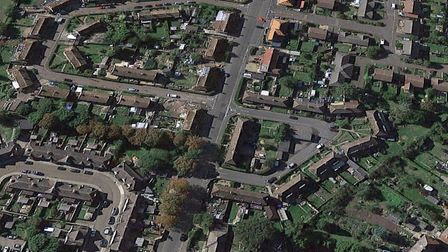 Icknield Way in Thetford were a man was stabbed twice. Picture: Google