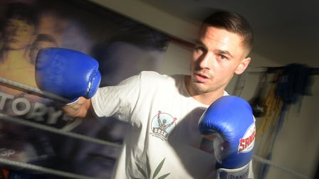 Ernastas Sabaitis is already a competing kickboxer and is aiming to go pro in October Picture: SARA