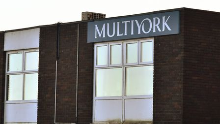 The former Multiyork offices in Thetford. Picture:: Sonya Duncan