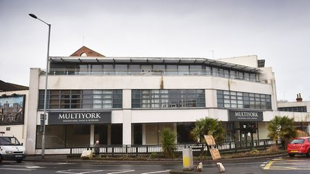 The former Multiyork store, St Stephens Road, Norwich. Picture: ANTONY KELLY