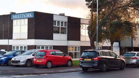 The fromer Multiyork offices in Thetford. Picture: Sonya Duncan