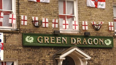 The Green Dragon public house in Thetford. Pictures:SONYA BROWN