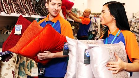 B&M has created 60 new jobs in Thetford. Picture: B&M