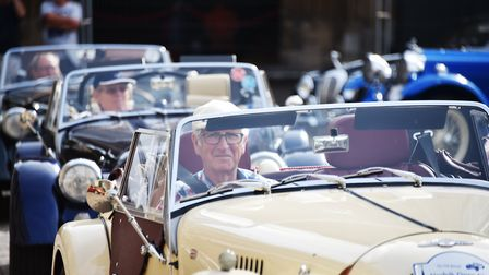 Classic American cars will be travelling from Norwich to Thetford. Picture: ANTONY KELLY