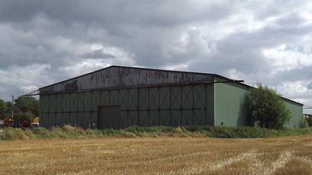 The hanger at the former RAF Methwold airfield. Picture: Steve Smith