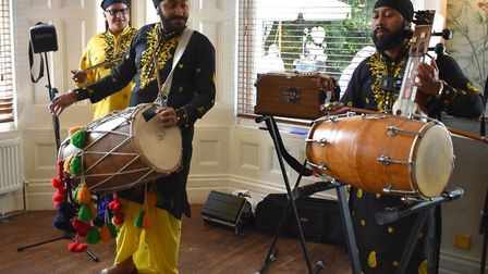 Launch of Punjab Festival in Thetford. Picture: ESSEX CULTURAL DIVERSUTY PROJECT