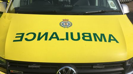 An ambulance was called to the scene. Picture: Archant