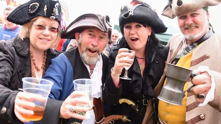 Thetford is set to be taken over by pirates. Picture: DENISE BRADLEY