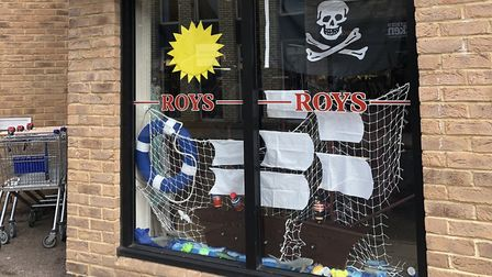 Roys toy shop has made its display pirate themed. Picture: The Lively Crew