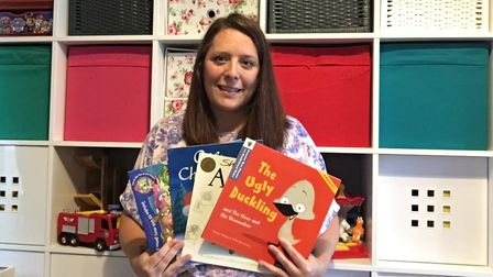 Gemma Moss started 'look for a book' in Thetford, to make children fall in love with reading again.