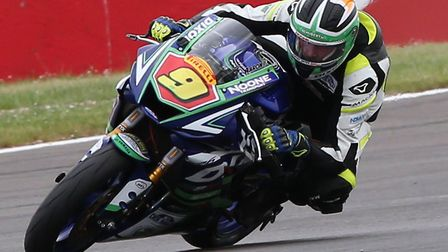 Aaron Clifford was seriously injured in a crash at Snetterton Circuit. Picture: BSB/Dacid Yeomans