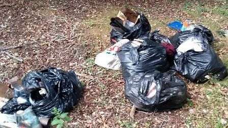 A man has been fined after flytipping in Thetford. Picture: Breckland Council