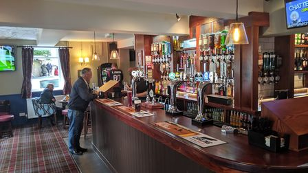 The Green Dragon pub has re-opened in Thetford. Picture: Marc Betts