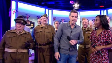 The Dad's Army Museum Thetford on The One Show. Picture: BBC