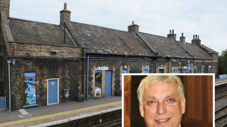 Andy Erlam has offered to buy Brandon train station. Picture: Andy Erlam/Archant