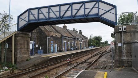 Andy Erlam has offered £100 to buy Brandon station. Picture:: Sonya Duncan