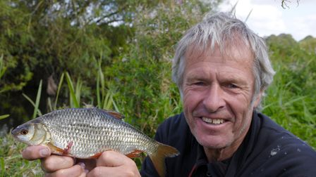 John Bailey has warned more must be done to save Norfolk's Chalk Rivers. Picture: John Bailey