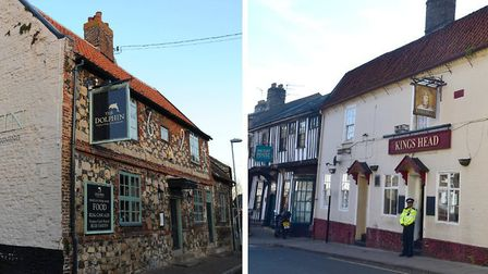 The Dolphin Inn and The Kings Head could be made into flats. Picture: Sonya Duncan